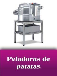 Peladoras de patatas industriales