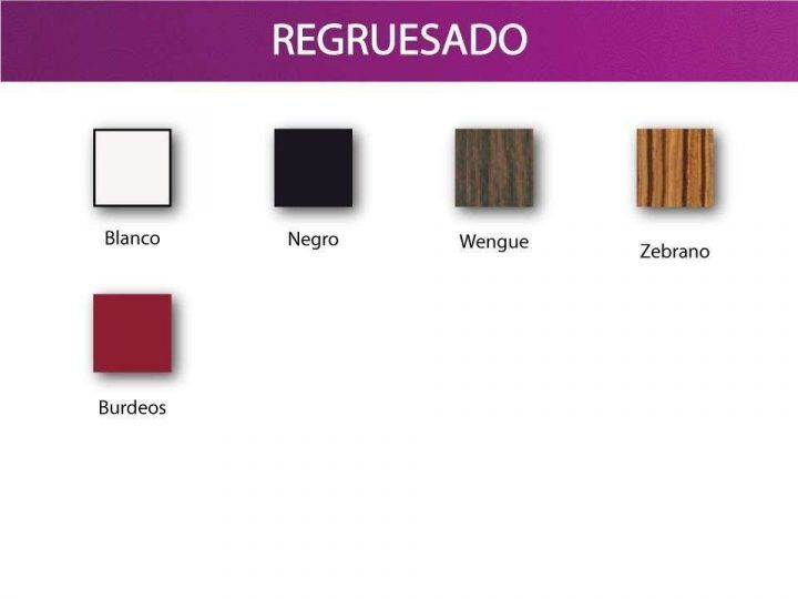 Colores regruesado ripay