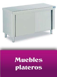 Muebles plateros
