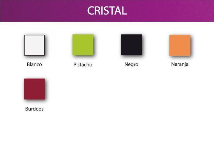 Colores cristal ripay