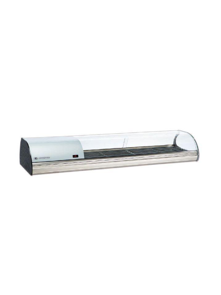 Expositor refrigerado G6 plata