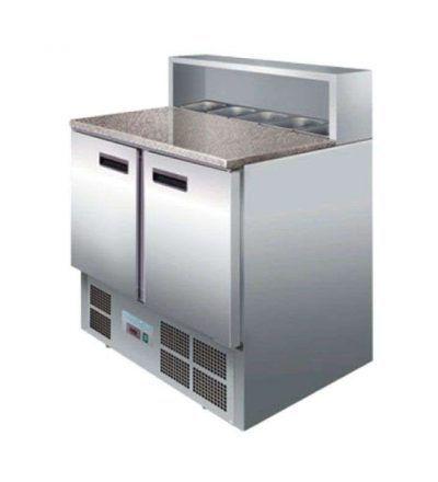 Mostrador preparación ensalada/pizza 288 litros