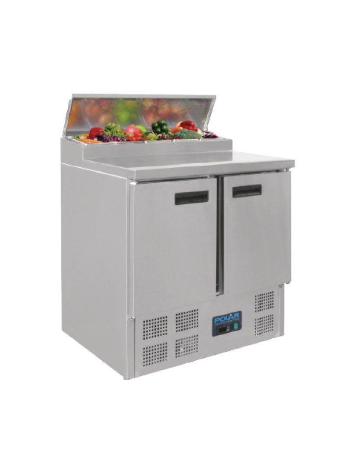 Mesa fria ensaladas