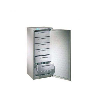 Congelador vertical de 7 cajones