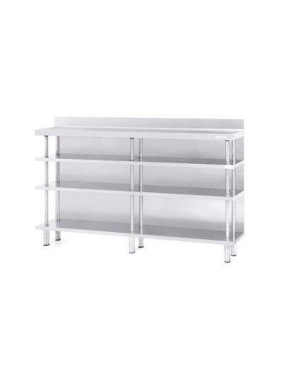 Mueble estantería trasbarra 300 mm de fondo 2 metros