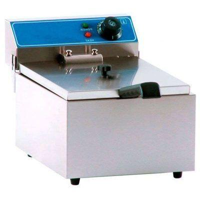 Freidora eléctrica una cuba de 6 litros