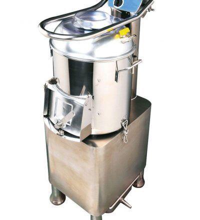 Peladora de patatas PF15 producción 300 kg./h