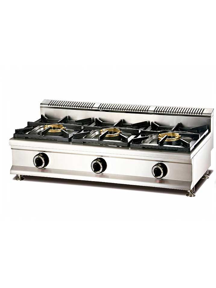 Cocina a gas modular 3 fuegos cql mas - Cocina gas 3 fuegos ...
