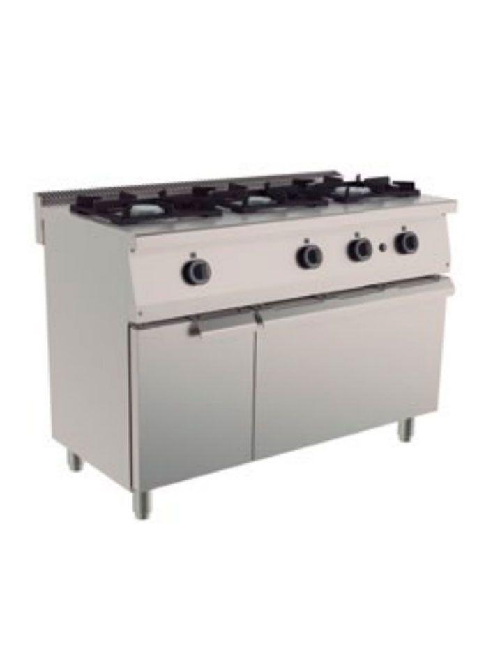 cocina 6 fuegos