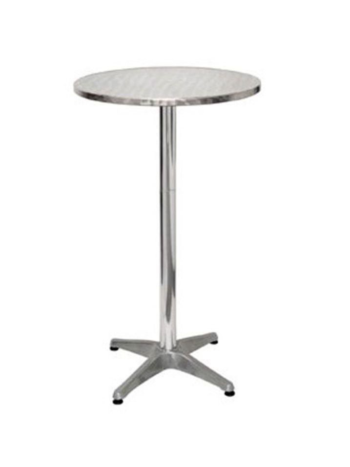 Mesa alta aluminio