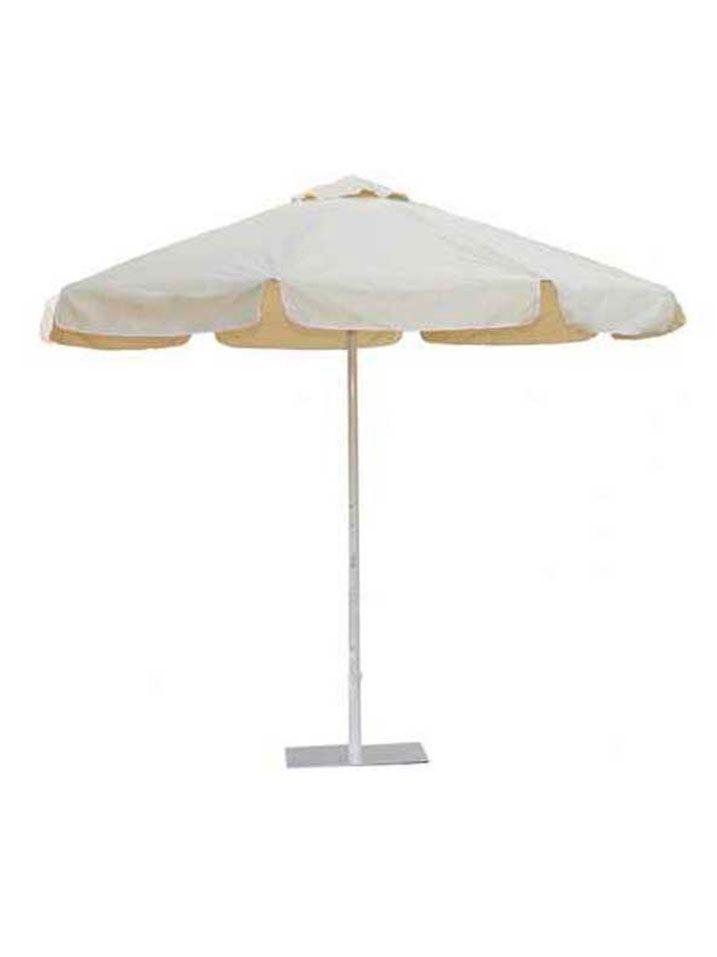 Parasol blanco
