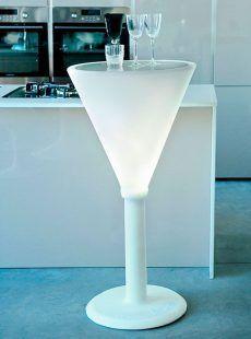 Mesa con luz