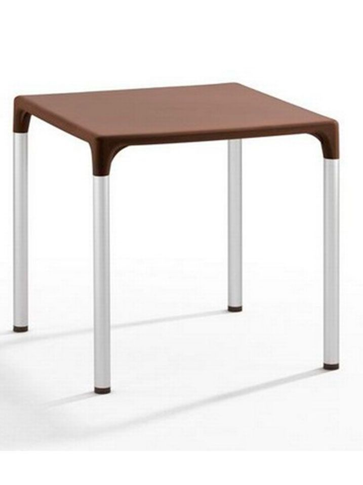 mesa dorotea marron