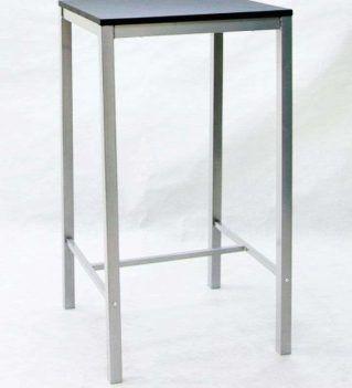 Mesa alta TROYA cuadrada 60 x 60 cm.