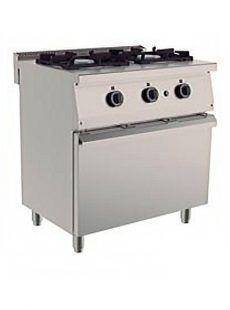 cocina 2 fuegos y horno