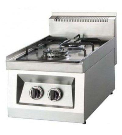 Cocina gas 2 quemadores