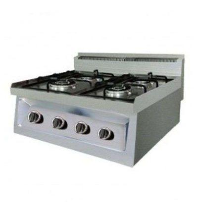 Cocina gas 4 quemadores