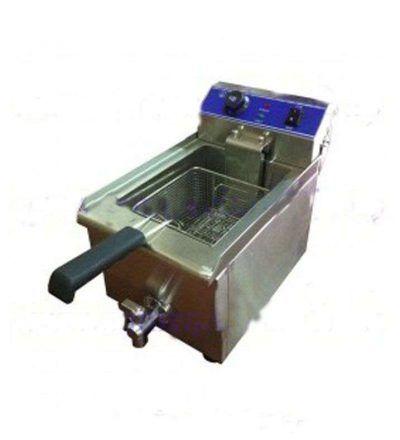 Freidora eléctrica de sobremesa una cuba