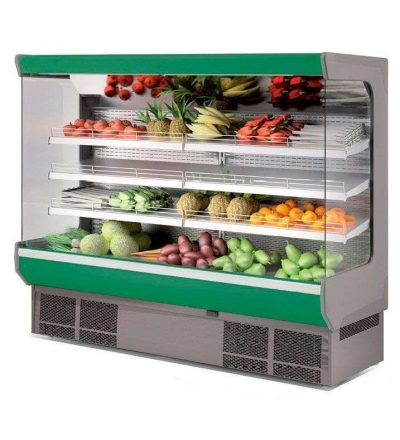 Vitrina expositora mural frutas y verduras (varias medidas)