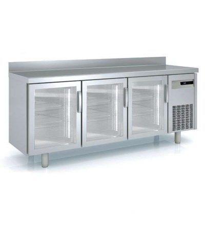 Mesa refrigerada medidas de 1495 mm. a 2545 mm