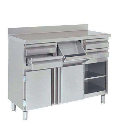 mcc 140 cafetera 400x440 - Maquinaria hosteleria ocasion: Muebles de acero