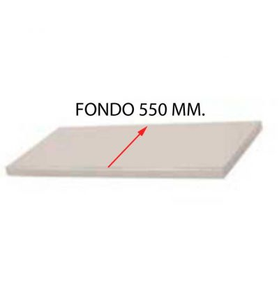 ESTANTE PARA FREGADERO MONTADO FONDO 550