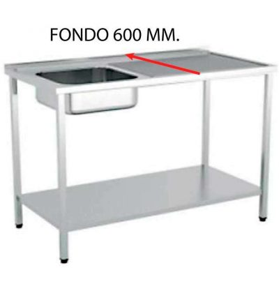 FREGADERO FONDO 600