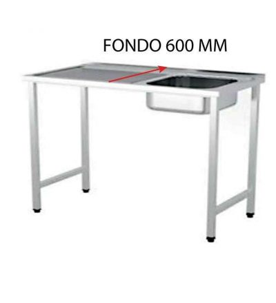 FREGADERO FONDO 600 MM