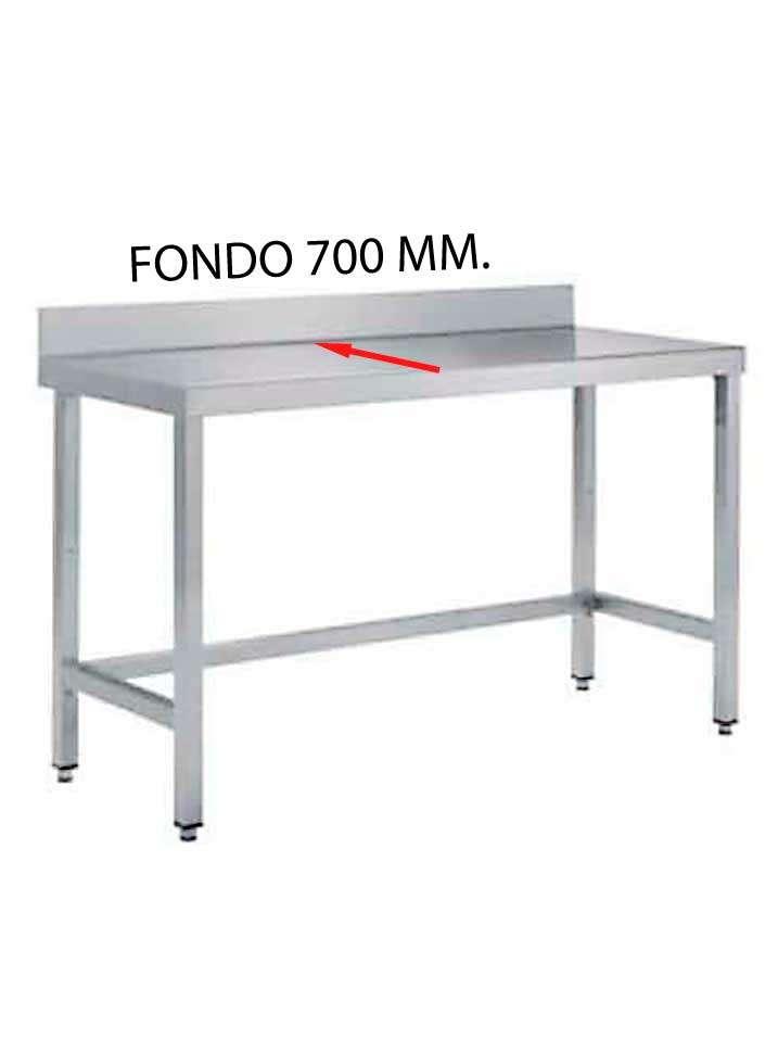 MESA MURAL FONDO 700 SIN ESTANTE - MESA MURAL FONDO 700 MM. DE DIFERENTES MEDIDAS (SIN ESTANTE) MF700SE-COF