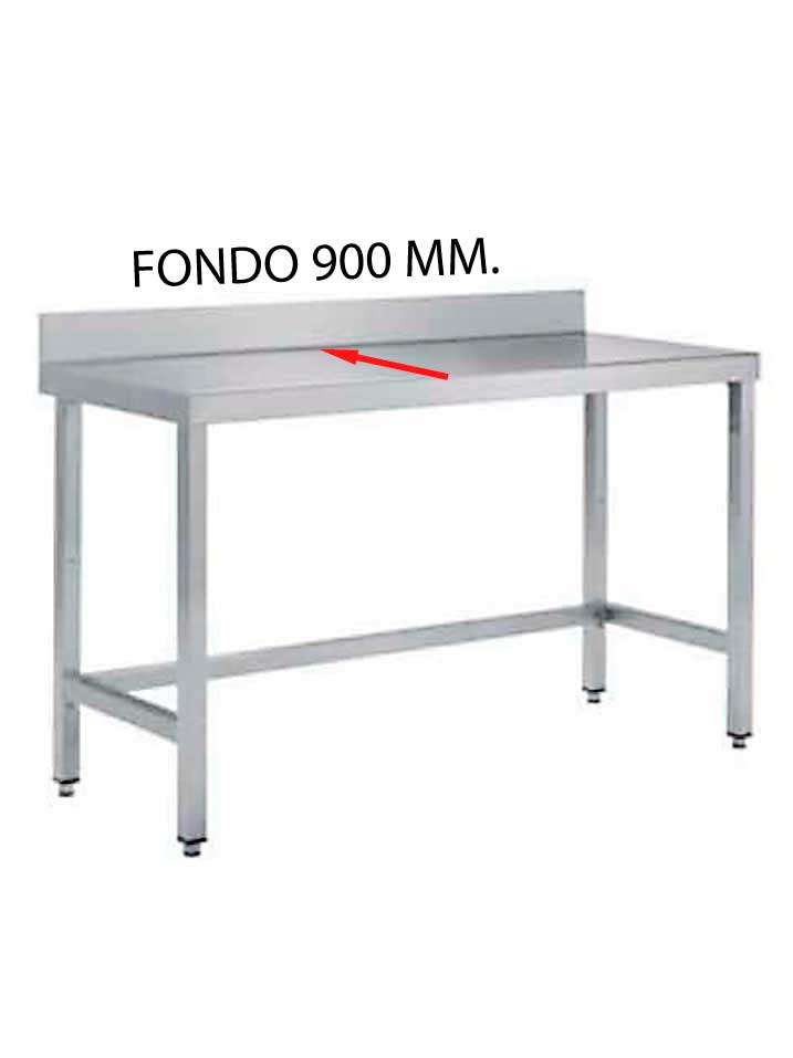 MESA MURAL FONDO 900 MM. DE DIFERENTES MEDIDAS (SIN ESTANTE) MF900SE-COF
