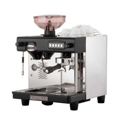 Cafetera office control con molinillo