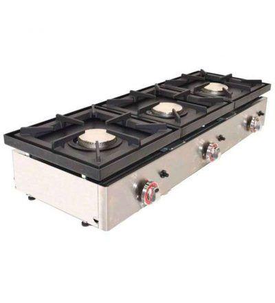 Cocina a gas industrial alto rendimiento