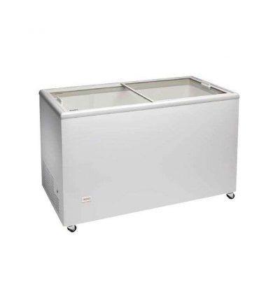 Congelador horizontal con puerta vidrio corredera de 4, 5 y 6 cestas