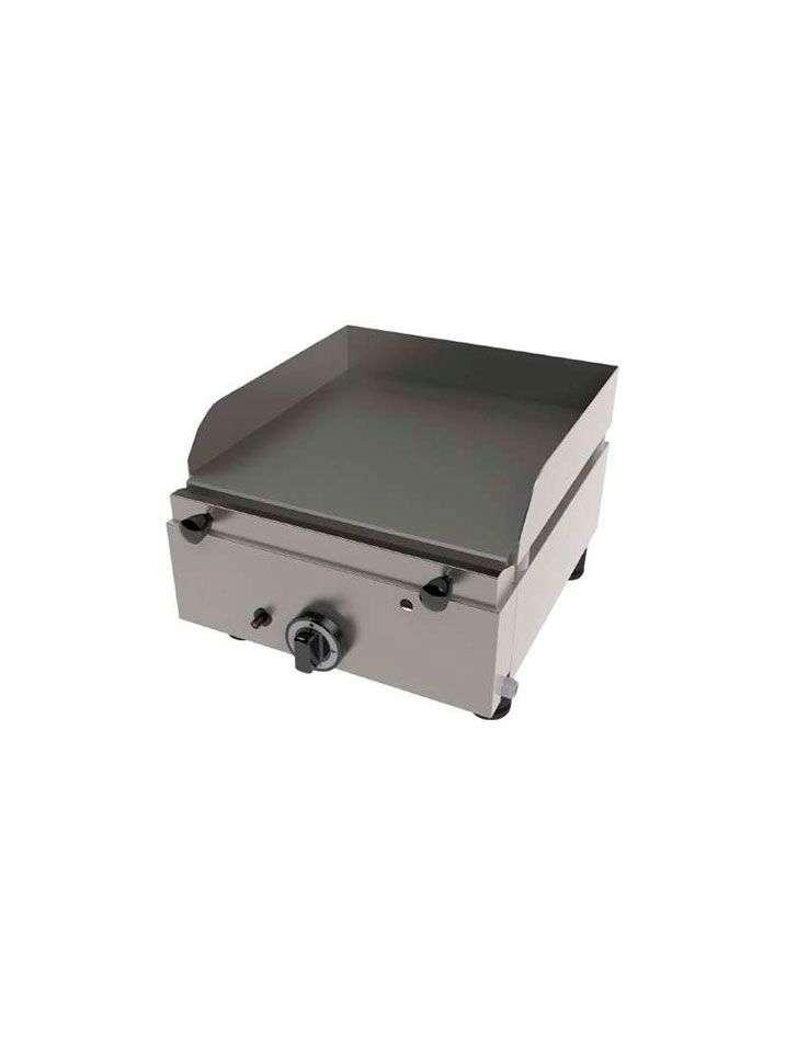 Plancha a gas acero laminado 6 mm de un quemador - Plancha para cocina a gas ...