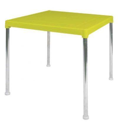 Mesa resina para terraza