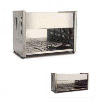 Tostadoras de pan a gas de 390 mm y 680 mm