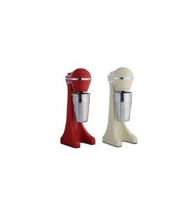 Batidora de helado color 400 w. Color rojo y blanco