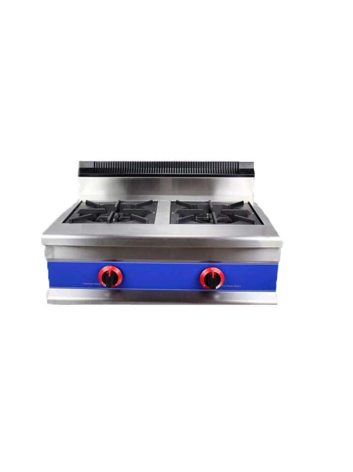 Cocina a gas de sobremesa cs gbr2 mqnx - Cocinas industriales de gas ...