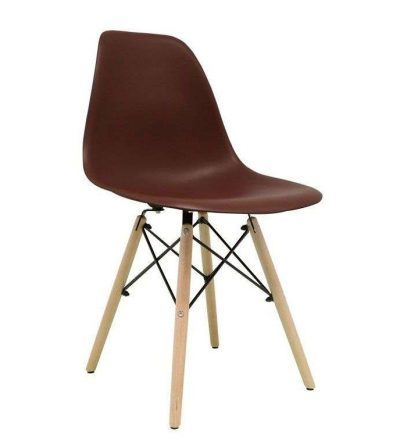 Silla nórdica TOWER color marron