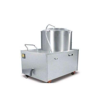Peladora patatas automática acero inox