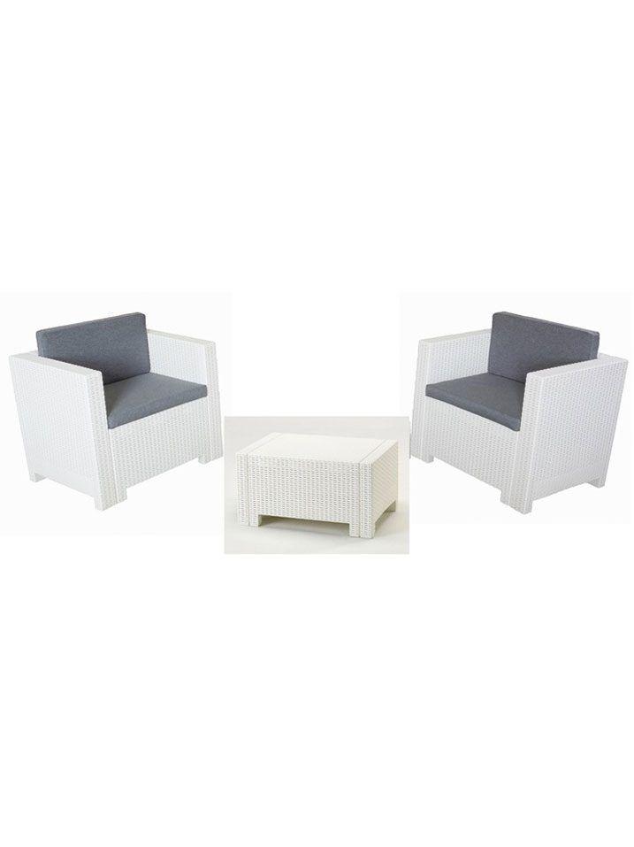 Conjunto de mobiliario exterior