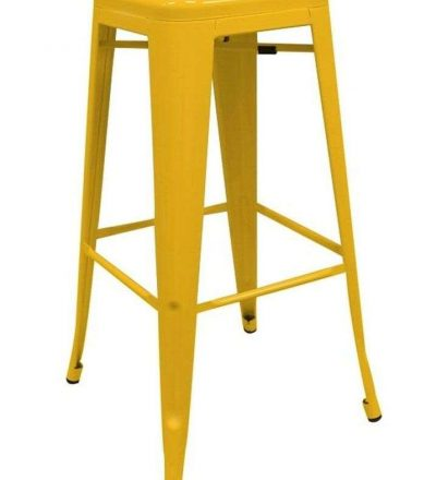 Taburete industrial TORIX color amarillo