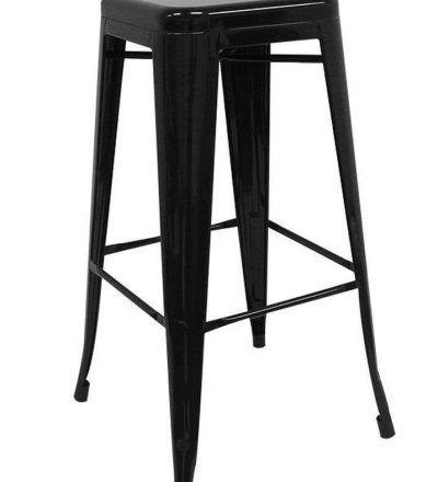 Taburete industrial TORIX color negro