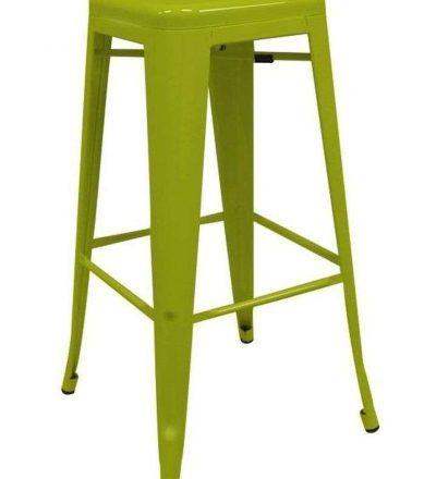 Taburete industrial TORIX verde pistacho
