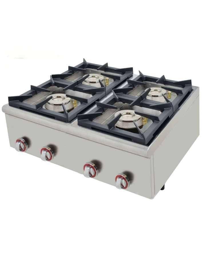 Cocina gas plus 80 - Cocina a gas plus 80 fondo 75