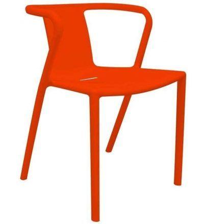 Silla diseño INDI color naranja