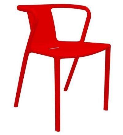 Silla diseño INDI color rojo