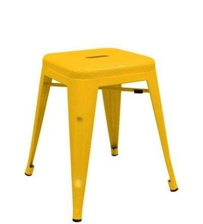 Taburete industrial TORIX PEQUEÑO color amarillo