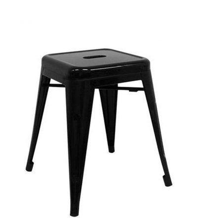 Taburete industrial TORIX PEQUEÑO color negro