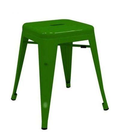 Taburete industrial TORIX PEQUEÑO color verde